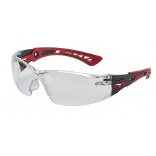 Bolle RUSH PLUS Safety Glasses With Clear Lens