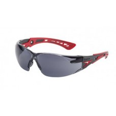Bolle RUSH PLUS Safety Glasses With Smoke Lens