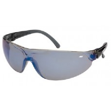 Bolle BLADE Safety Glasses With Light Smoke Blue Flash Lens