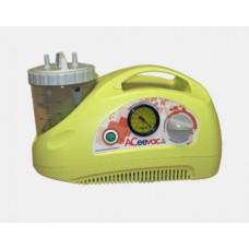 ACEEVAC Portable Suction Pump, Vacuum range 0 to -80kPa, 240V