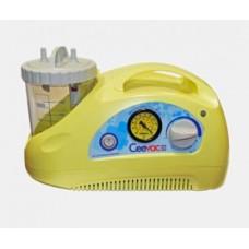 CEEVAC Portable Suction Pump, Vacuum range 0 to -80kPa, 240V-12V-Internal battery