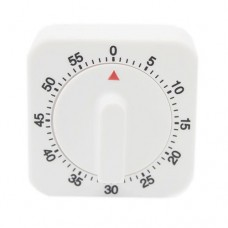 60 min Dial Timer, Analogue, White