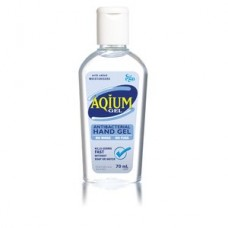 Aqium, Antibacterial Hand Gel, 70ml Squeeze Pack