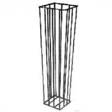 Small Waste Bag Stands, H/D Plastic Coated Metal, Suits 27cm bag