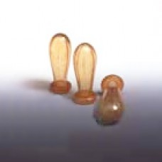 Rubber Bulbs For Smaller Pipettes, Premium German Natural Rubber, Bag 100